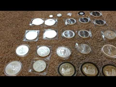 My Modern Bullion Silverstack And Shoutouts, Speeded Up