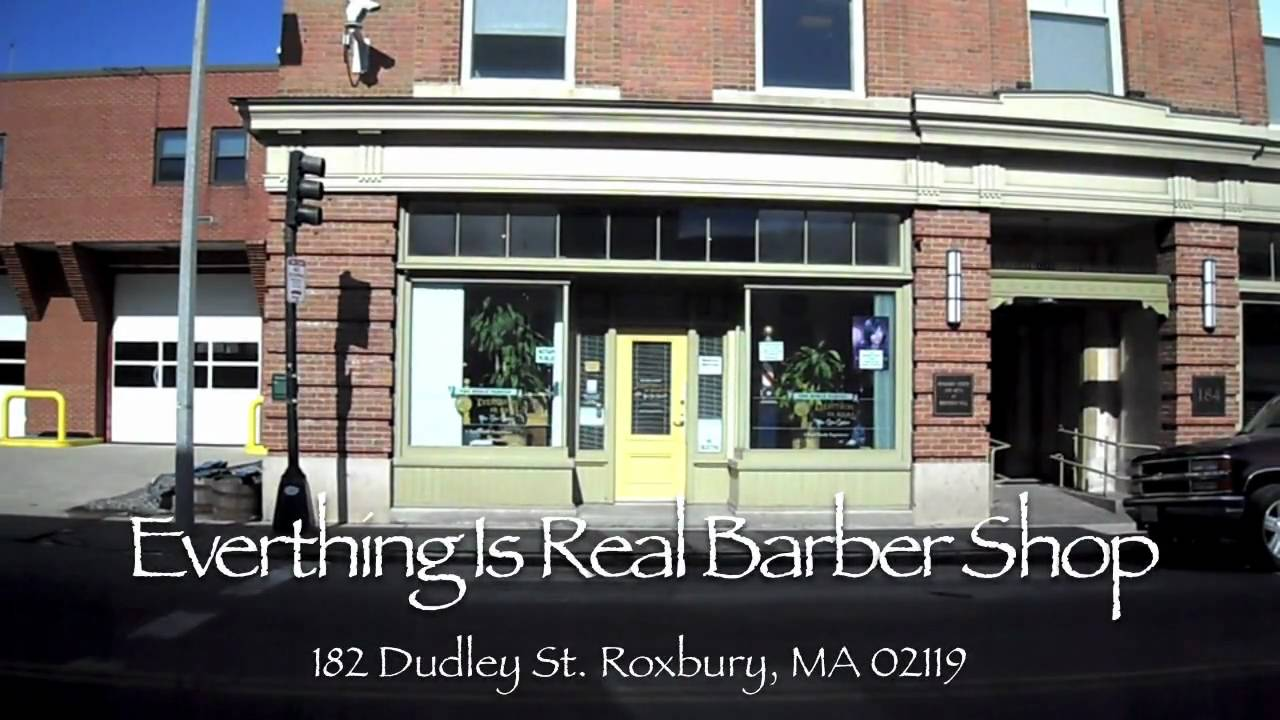 Everything Is Real Barber Shop - YouTube
