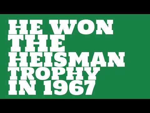 What grade was UCLA when he won the Heisman Trophy?