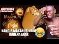 Kocak Lucu Orang Afrika Makan Ice Cream Magnum Nangis Tersedu