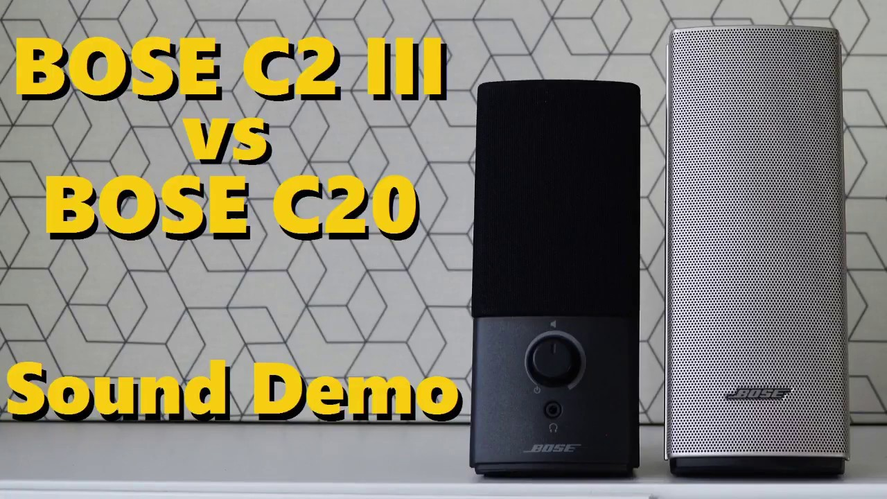 bose companion 2 series iii vs bose companion 20 sound demo w bass test youtube. Black Bedroom Furniture Sets. Home Design Ideas
