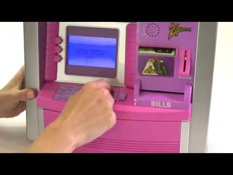 Zillionz Savings Goal ATM Bank 0T3011306