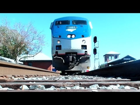 Amtrak Silver Star Train Ride Tampa FL To Newark NJ With Millenniumforce