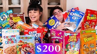 Australians Try American Cereal! ($200 WORTH!)