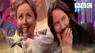 Never have I ever.. kissed Keanu Reeves | The Graham Norton ...