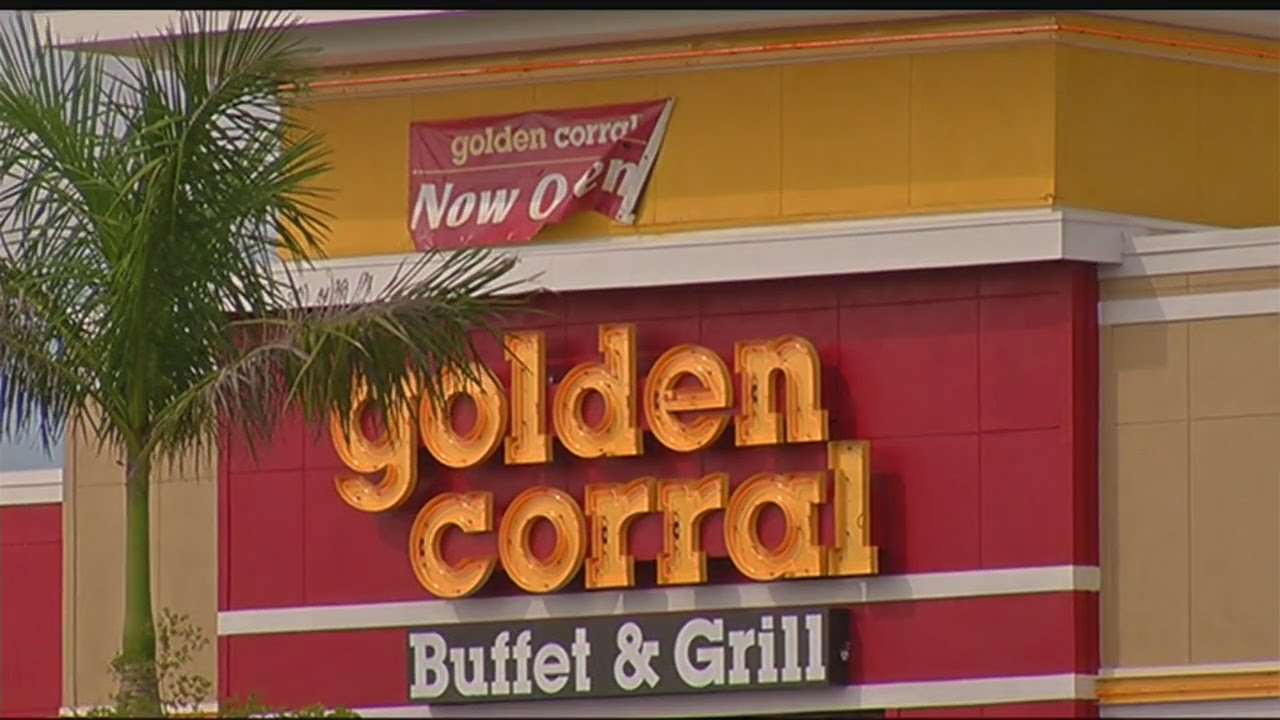 Attempted robbery at Golden Corral in Cape Coral - YouTube
