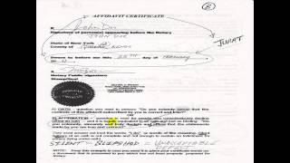 Affidavit Procedure www.NotaryPublicNewYork.com