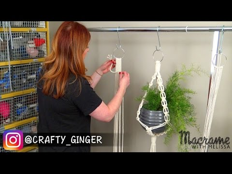 2 Of 4 Macrame Plant Hanger For Beginners Diy Tutorial