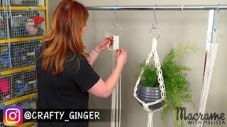 #2 of 4: Macrame Plant Hanger for Beginners DIY Tutorial