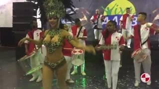 show escola de samba Apito de Mestre no clube AABB Santo Amaro