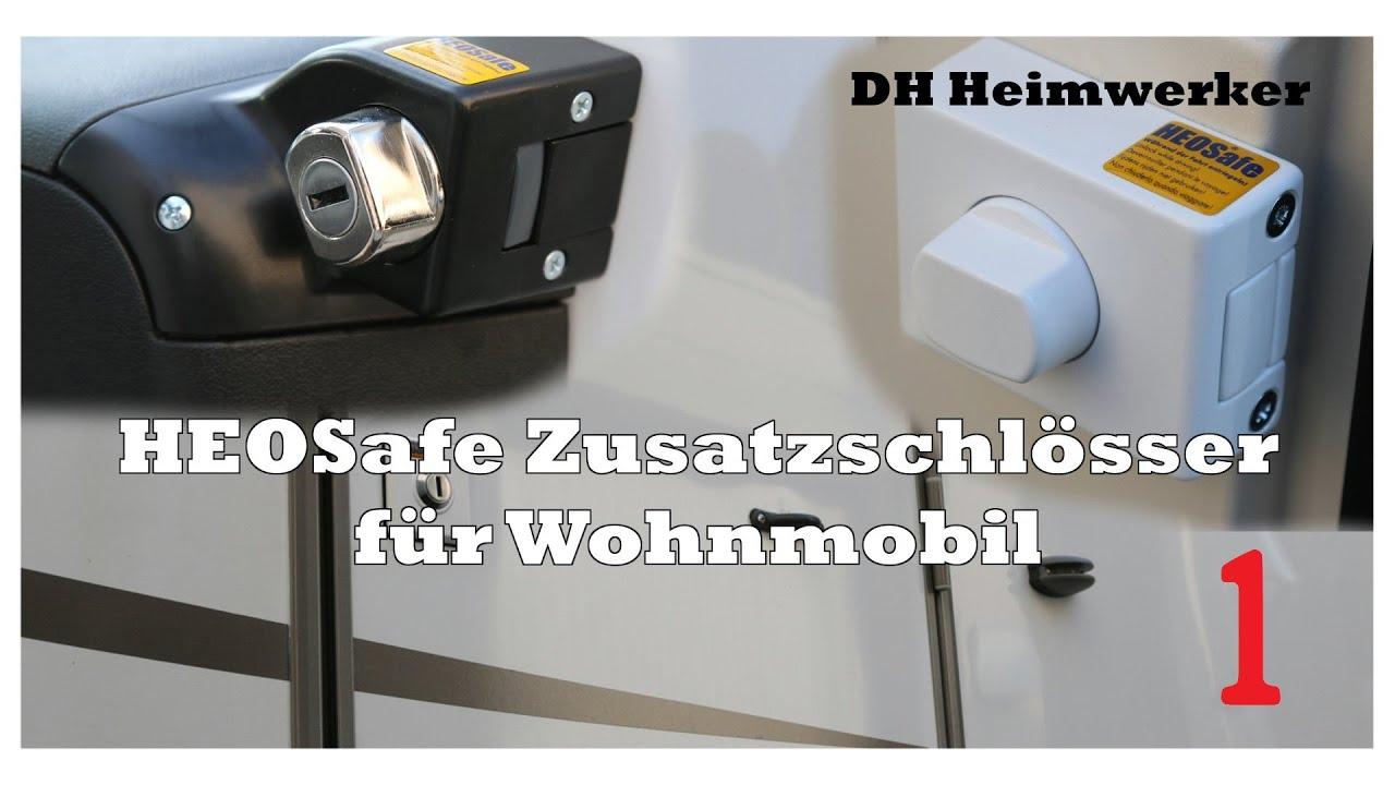 HEOSafe Wohnmobil Zusatzschloss [Deutsch/FullHD] Part 10