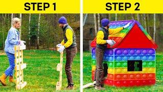 Creative DIYs And Hacks For Your Cozy Backyard
