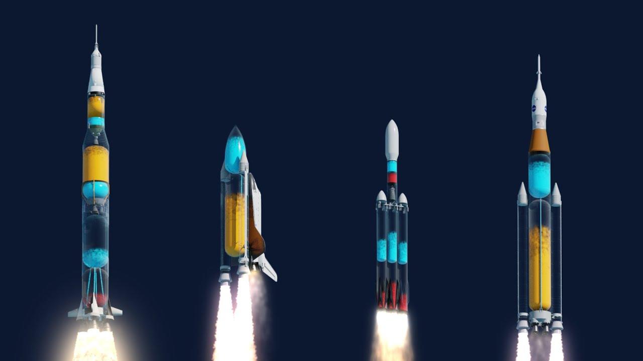 Если бы ракеты были прозрачными...