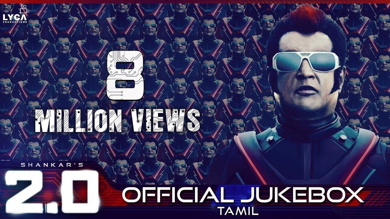 2.0 - Official Jukebox (Tamil) | Rajinikanth, Akshay Kumar | Shankar ...
