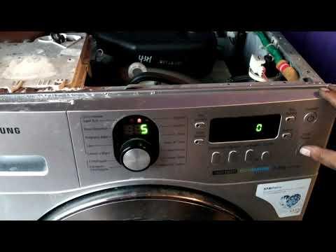 Autotest Lavarropas Samsung WF1702 Error 3E