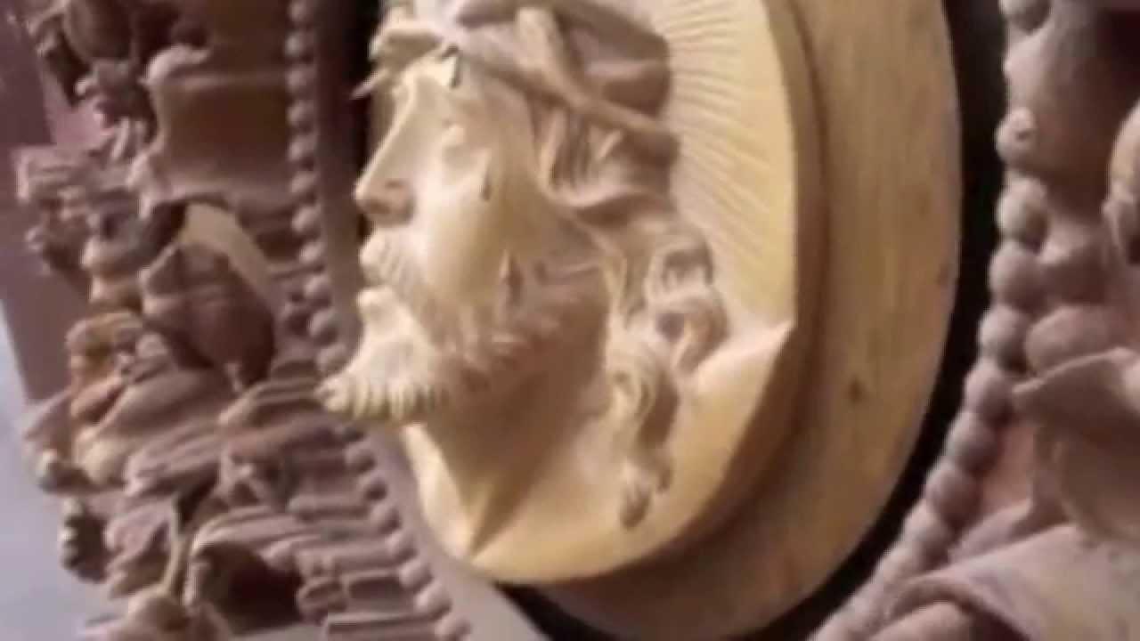 San Antonio de Ibarra - Ecuador, marco estilo Barroco tallado en ...