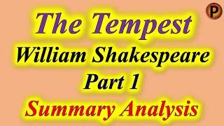 ✅ The Tempest Part 1 10E1001 IN HINDI हिंदी में टेम्पेस्ट भाग 1 ✅