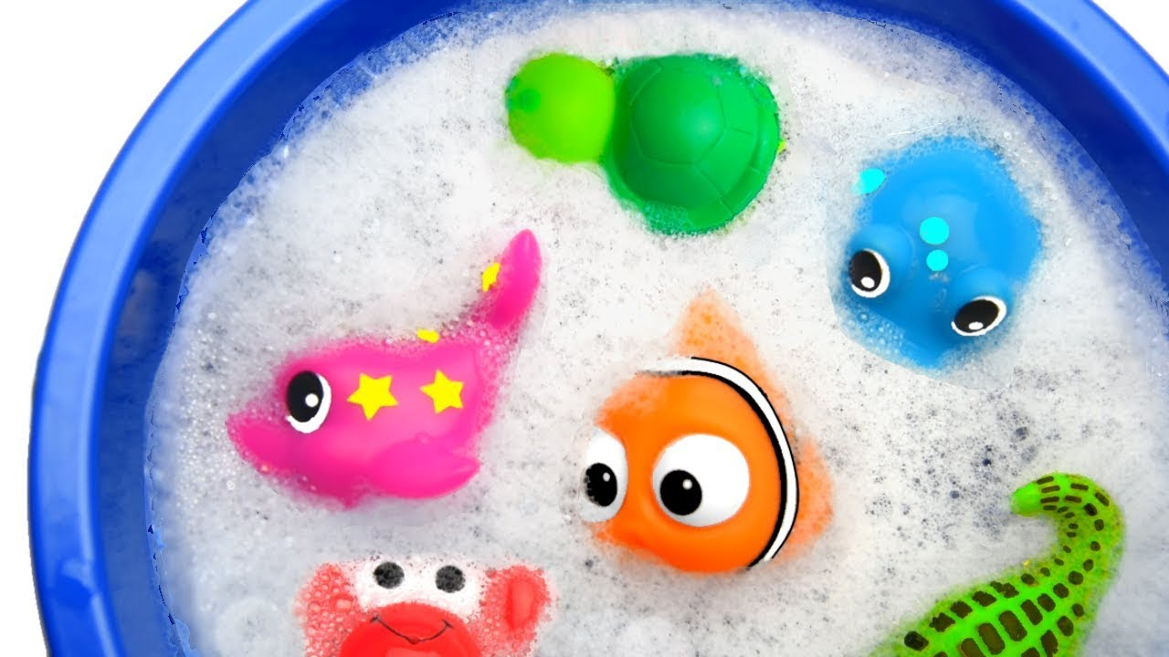 Learn Colors with Animals and Farm Surprise Toy for Kid Child with Foam