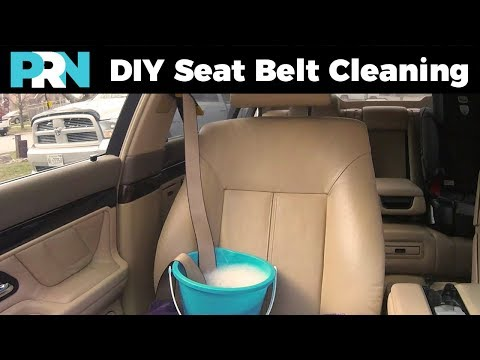 How To Clean Disgusting Seat Belts | TestDrive Garage