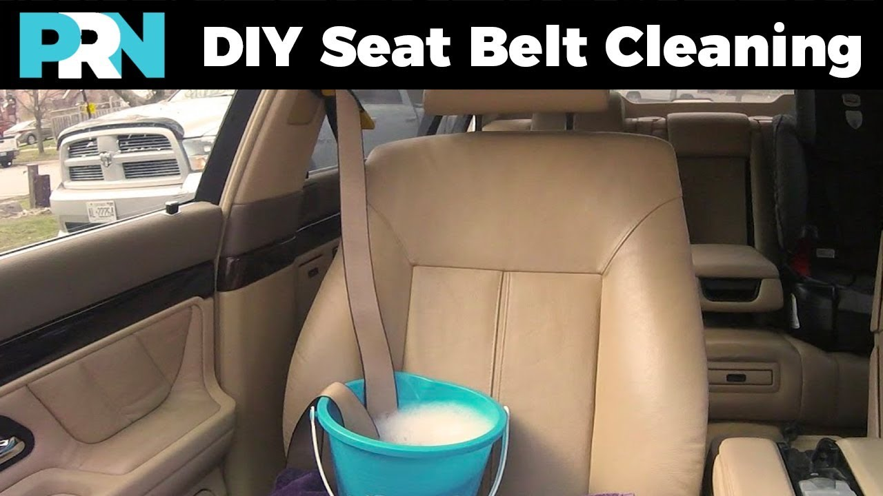 How To Clean Disgusting Seat Belts
