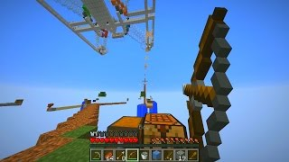Minecraft SKYBLOCK WARRIORS #9 with The Pack (Minecraft PVP)