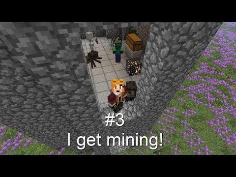 Minecraft Explorer pack #3. I get mining!