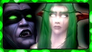WOW Legion 🌟 Illidan's Memory of Tyrande in the Black Temple (Cutscene)