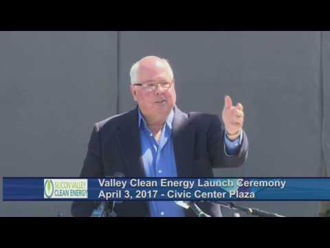 Silicon Valley Clean Energy Launch Ceremony