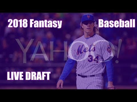 2018 Fantasy Baseball Yahoo 10 Team Categories Draft