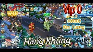 Pokemon:Vip 0 Sở Hữu Trong Tay 100000 Kim Cương Và Quá Trời Lengends Thần Thánh