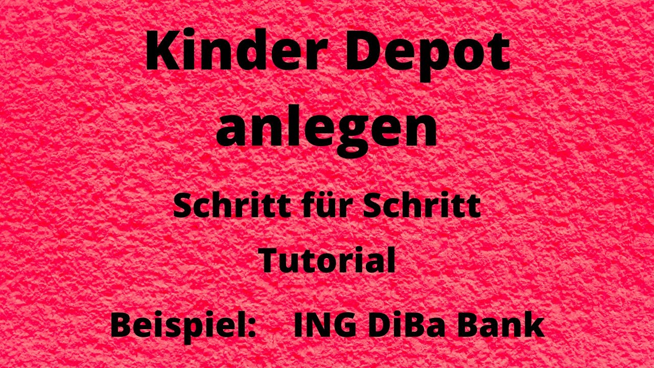 Ing Diba Aktiendepot