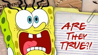 7 Most Important Spongebob Conspiracies! - Cartoon Conspiracy Special | Channel Frederator