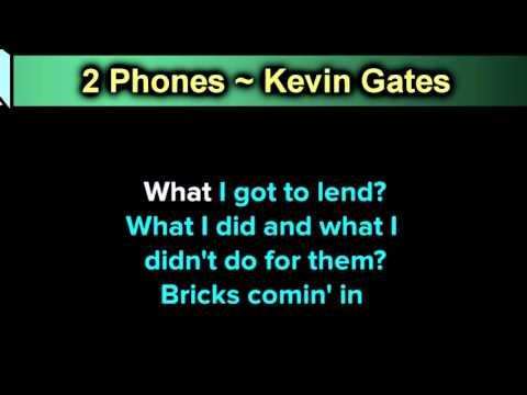 2 Phones ~ Kevin Gates ~ New Karaoke ~ Karaoke 808