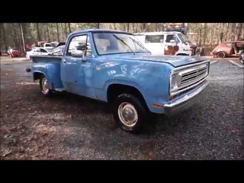 1973 Dodge Wash And Hinge From The Junk Yard