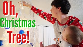 Decorating Our First Christmas Tree!!!   Teen Mom Vlog