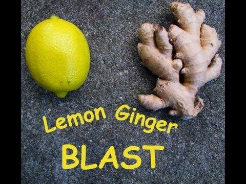 Lemon Ginger Blast - A Healthy Juice Recipe
