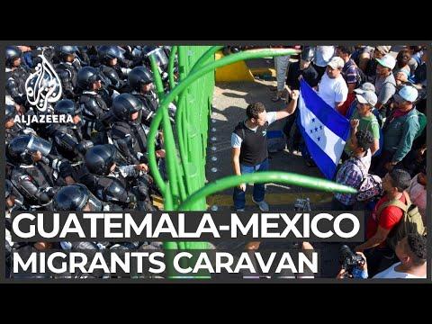 Hondurans march towards Mexico seeking a better future
