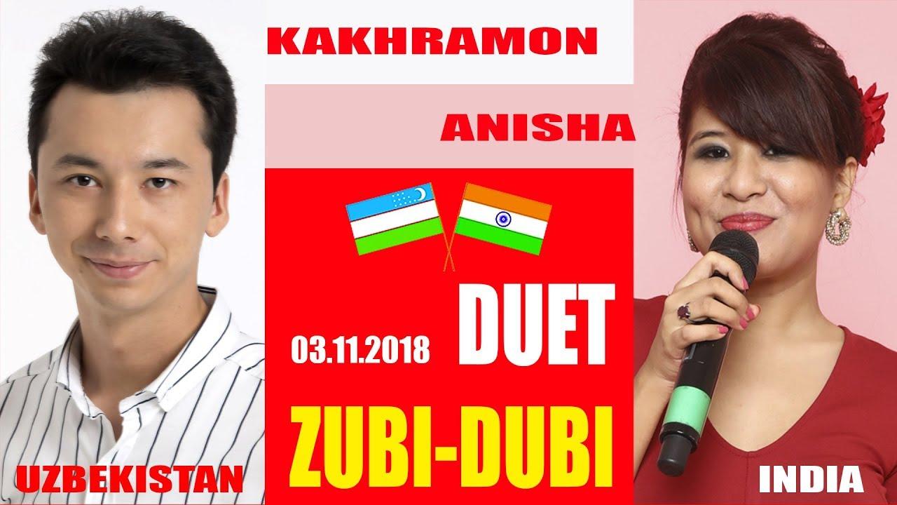 HAVAS guruhi/Kakhramon & Anisha DUET/Zubi-Dubi/LIVE-03.11.2018 Uzbekistan