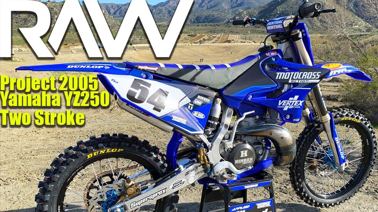 2005 Yamaha YZ250 2 Stroke Project Build RAW - Motocross Action Magazine