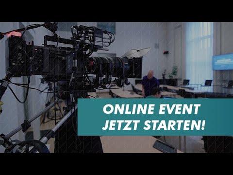 Online Event mit Videostream | © mainfilm.tv