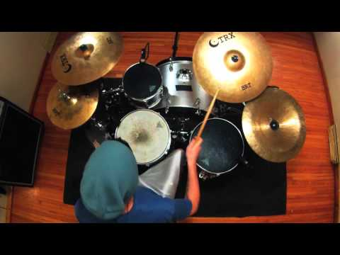 "Paeton Gillette - Charlie Siren - ""Mood Swings"" Drum Playthrough"