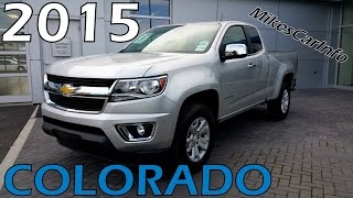 2015 CHEVROLET COLORADO EXTENDED CAB LONG BOX 2-WHEEL DRIVE LT