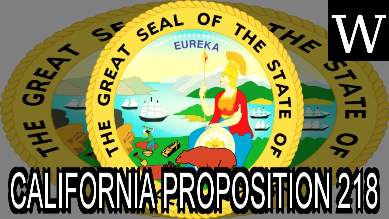 CALIFORNIA PROPOSITION 218 (19...