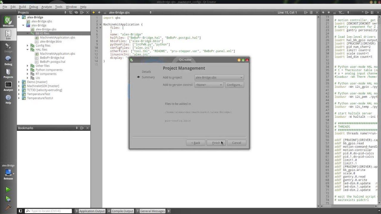 Qt Creator adding files Qbs demo