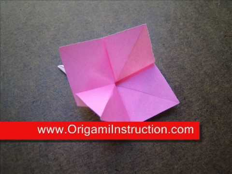 Origami Instructions Hydrangea