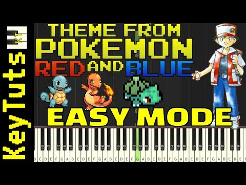 Learn to Play Theme from Pokemon Red and Blue - Easy Mode