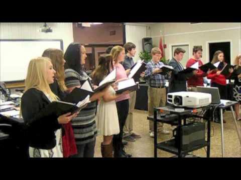 Cherokee H.S. choir performs Christmas carols for BOE