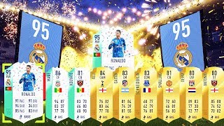 OMG! Fut Birthday Ronaldo & Bale In A Pack!! Fifa 18 Ultimate Team