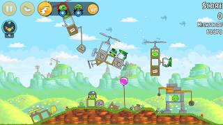 Angry Birds - levels 24-13 to 24-15 : Red