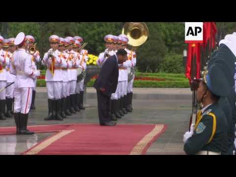 Cambodian PM in Vietnam for bilateral talks